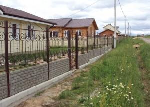 кованый забор на www.hobbywork.ru
