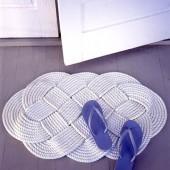 Как сплести (связать) коврик своими руками