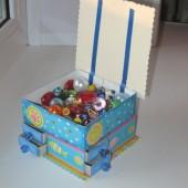Мини-комод из спичечных коробков.10