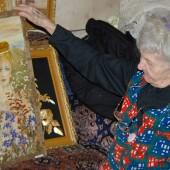 ОН Булич с картиной Колдунья