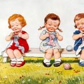 Дети вяжут