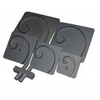 кондукторы для изготовления завитка за 8000 руб.