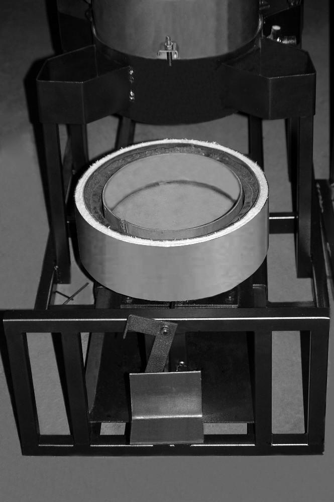 нижняя часть топочной камеры ЖАР-25