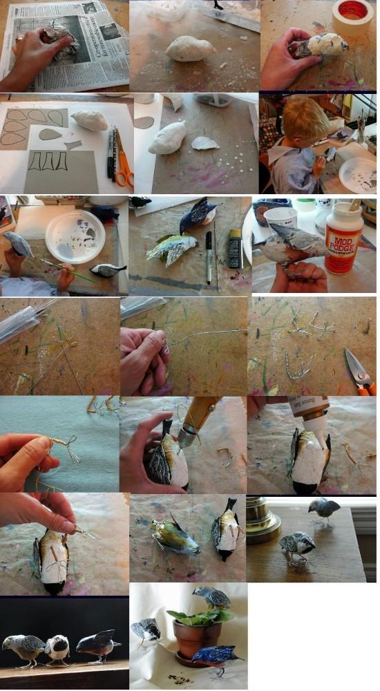 Как сделать из папье маше с фото 573