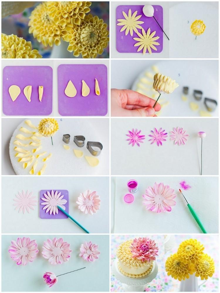 Цветы из мастики своими руками для начинающих 28
