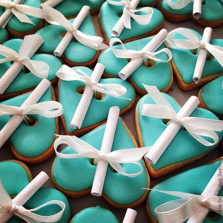 Печенье с пожеланиями своими руками рецепт с фото 14