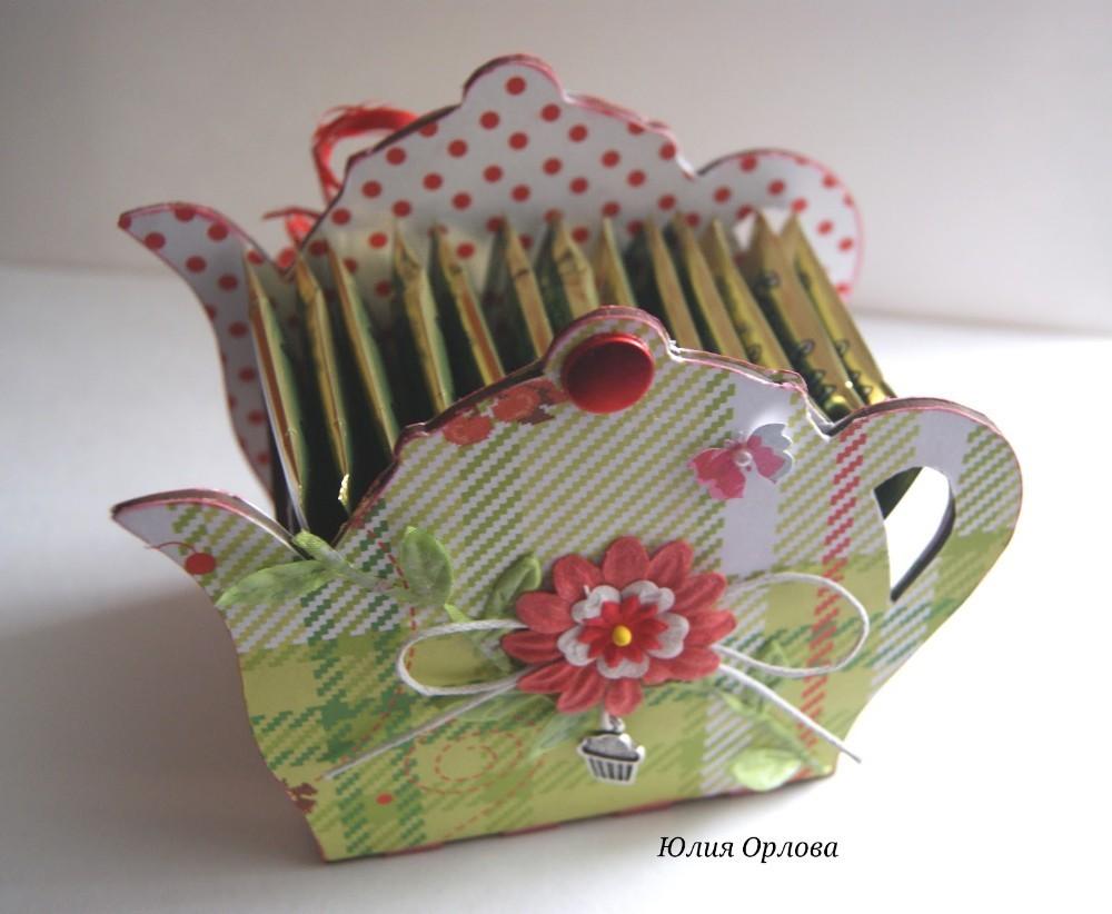 Розы из чайных пакетиков. Фото 37