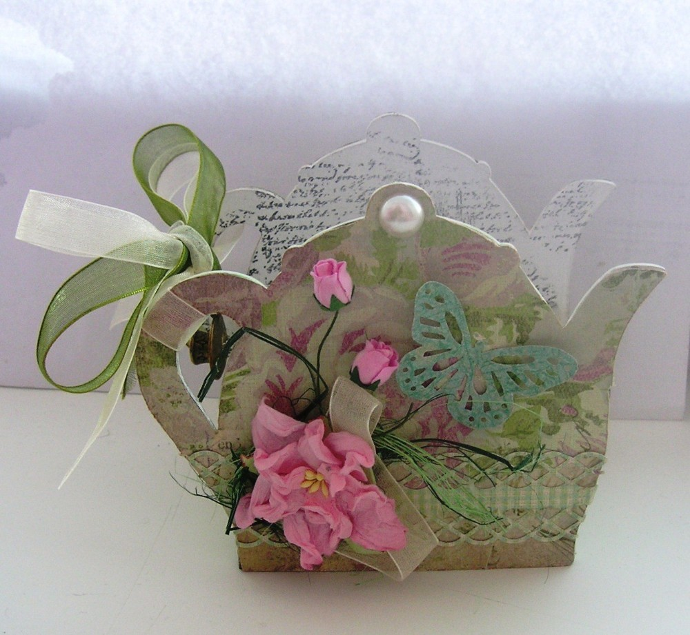 Розы из чайных пакетиков. Фото 36