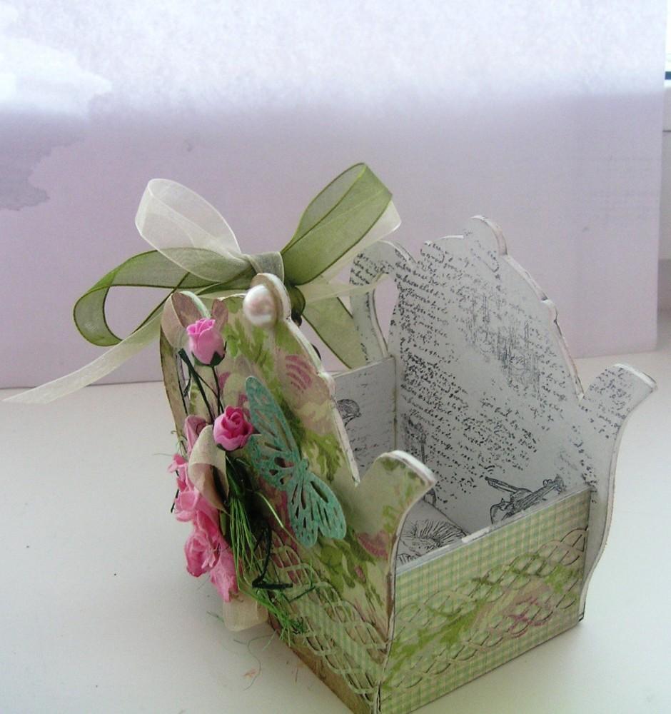 Розы из чайных пакетиков. Фото 14
