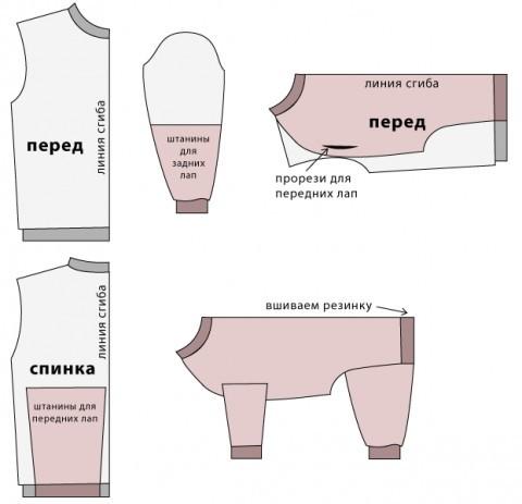 Выкройка одежды для тойчиков своими руками