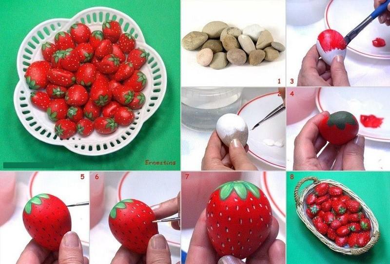 Поделка для детей ягоды 89