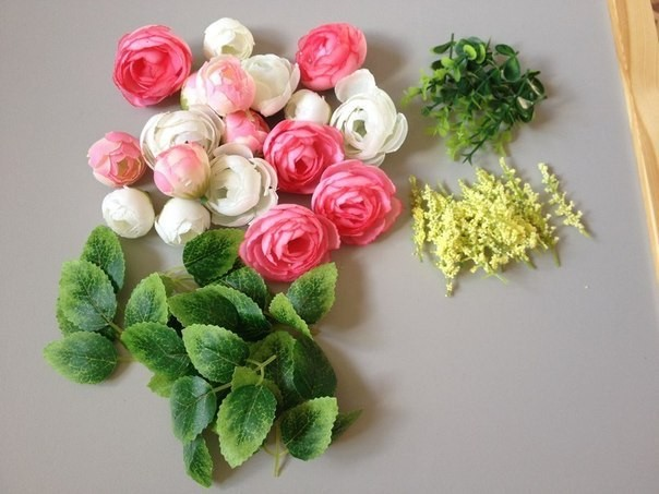Изготовление цветов для топиария мастер класс